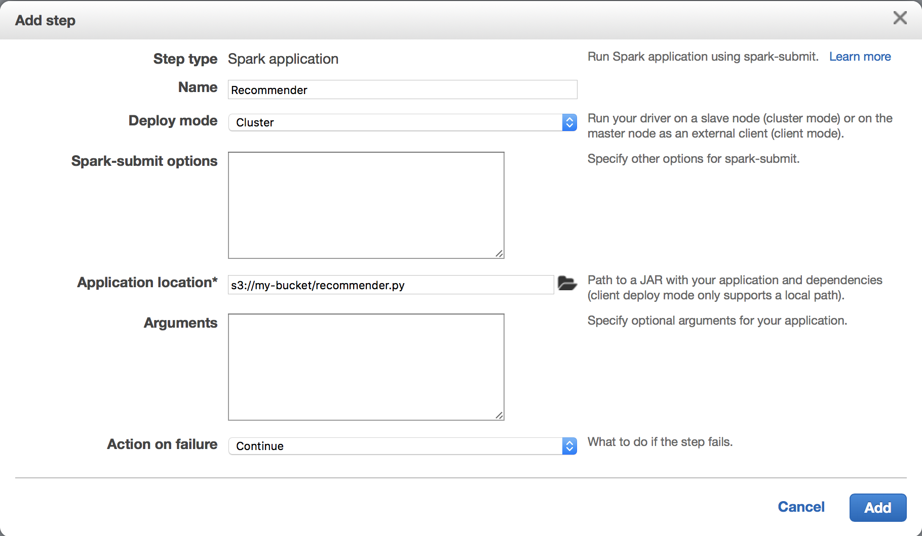 schaper io - Building a Recommendation Engine with Spark and EMR